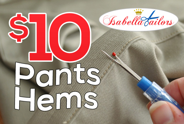 $10 Pants Hems
