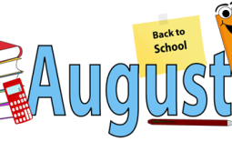 August is Back to School month